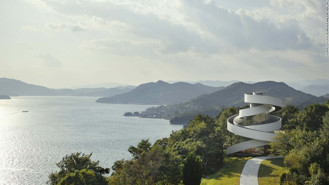 Some of Japan's most innovative and forward-looking buildings draw on traditions blurring the line between nature and architecture.<br /><br />Set midway on a hill in Hiroshima, this chapel designed by Japanese architect Hiroshi Nakamura spirals up toward the sky, while hugging the surrounding environment.  <br />