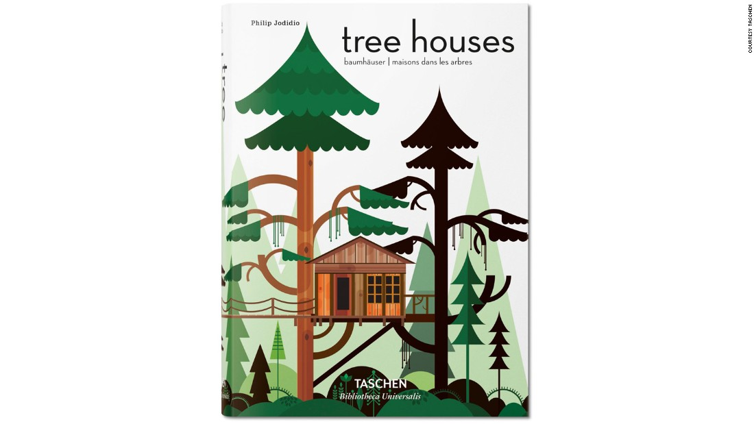 "<a href=""https://www.amazon.com/Tree-Houses-Fairy-Tale-Castles/dp/3836526646"" target=""_blank"">""Tree Houses: Fairy Tale Castles in the Air""</a> by Philip Jodido, published by Taschen, is out now.  (Illustration by Patrick Hruby.)"