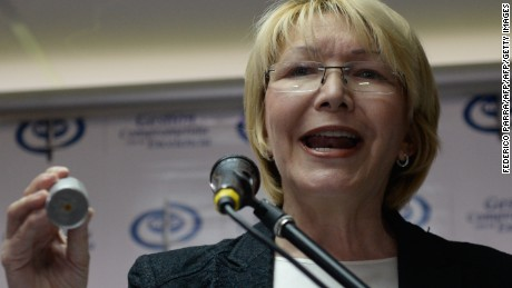 Venezuelan Attorney General Luisa Ortega has spoken out against President Nicolas Maduro's regime.