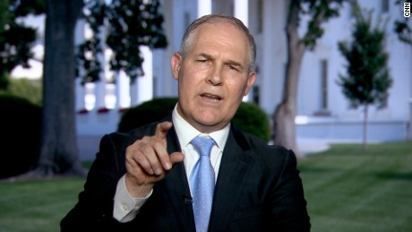EPA chief: Paris climate withdrawal is about putting 'America First'