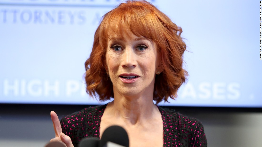 Kathy Griffin: Trump is 'trying to ruin my life' after photo scandal