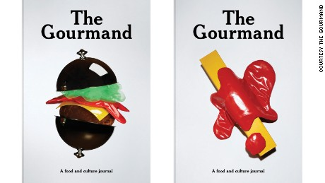 Jenny van Sommers' covers for The Gourmand Issue 06