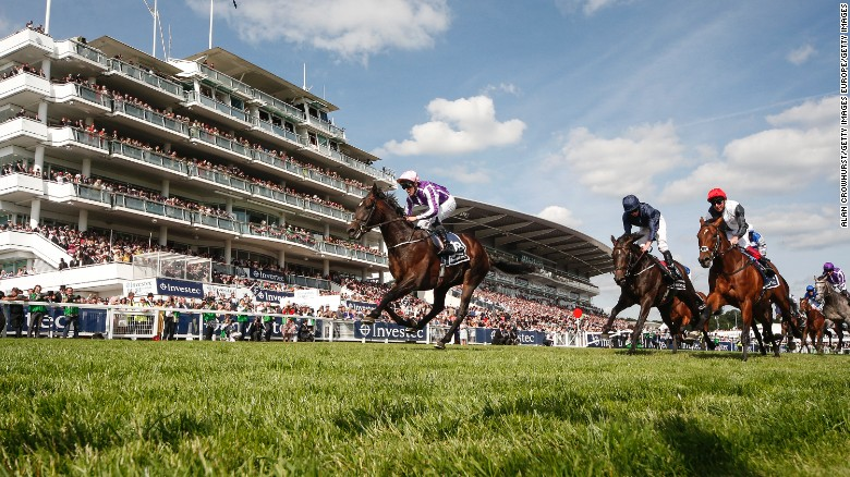 Wings of Eagles wins the 2017 Epsom Derby