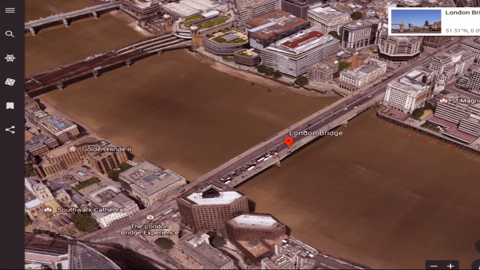 Report Incident At London Bridge CNN Video - Washington dc bridges map