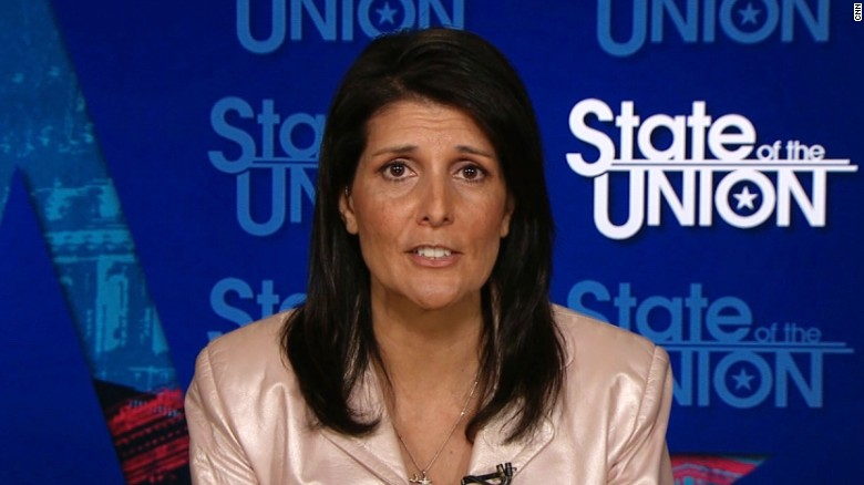 Haley: Ask Trump where he stands on NATO