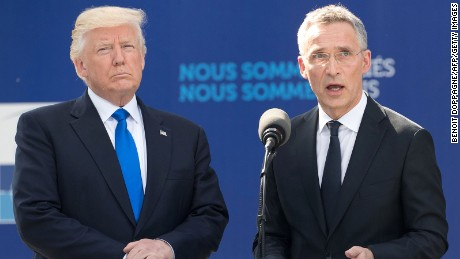 NATO chief: Trump's 'absolutely' committed to alliance