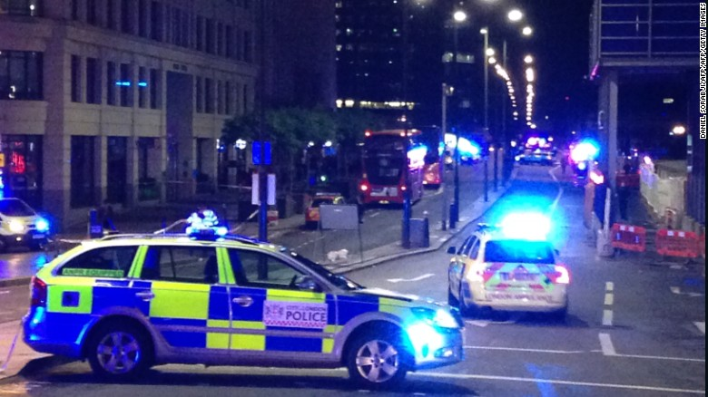 Arrests made in London terror attack