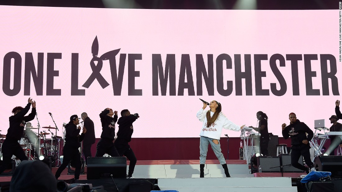Billedresultat for one love manchester