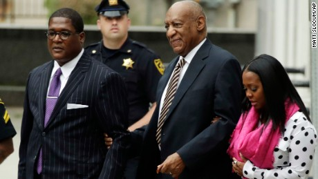 Bill Cosby arrives at court to face 2004 indecent assault charges