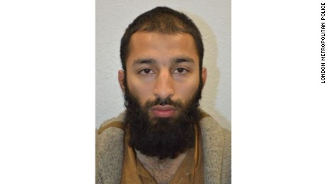 Police identifies third attacker of London attack
