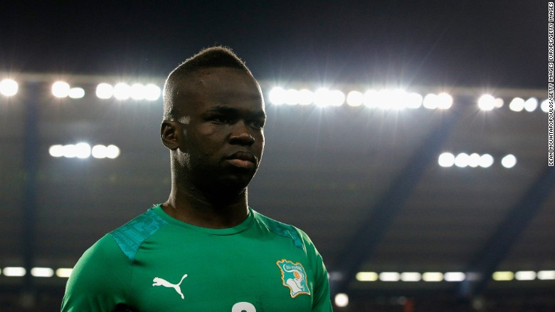 Tiote played for the Ivory Coast in the 2010 and 2014 World Cups.