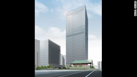 Hotel Okura is due to open in 2019.
