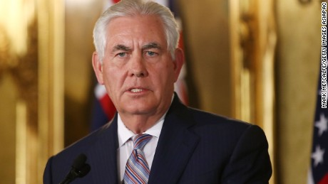 Secretary of State Rex Tillerson undermines bipartisan Russian Federation  sanctions