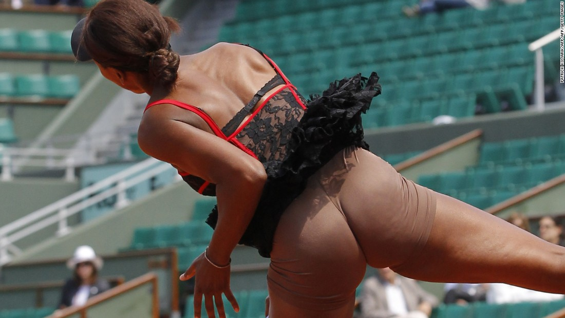Venus Williams shocked some onlookers at the 2010 French Open with her skin-toned underwear.