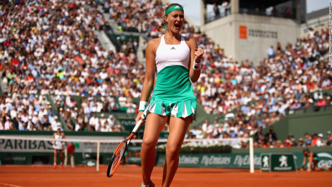Mladenovic eventually prevailed and the 13th seed now faces Timea Bacsinszky in the quarterfinals.
