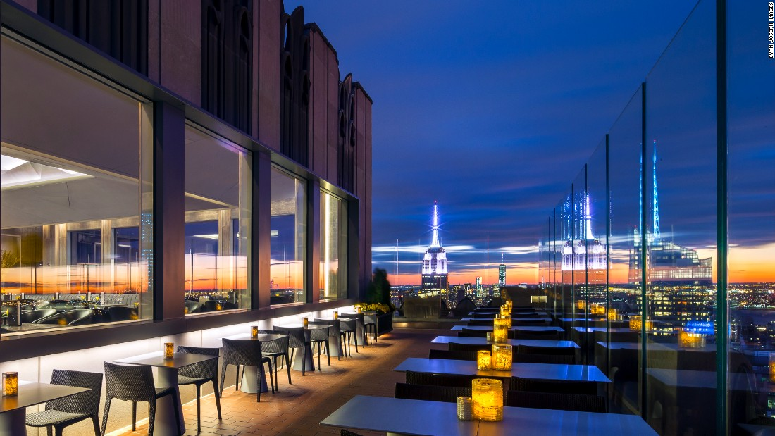 New york city 39 s best rooftop bars for Food bar new york city