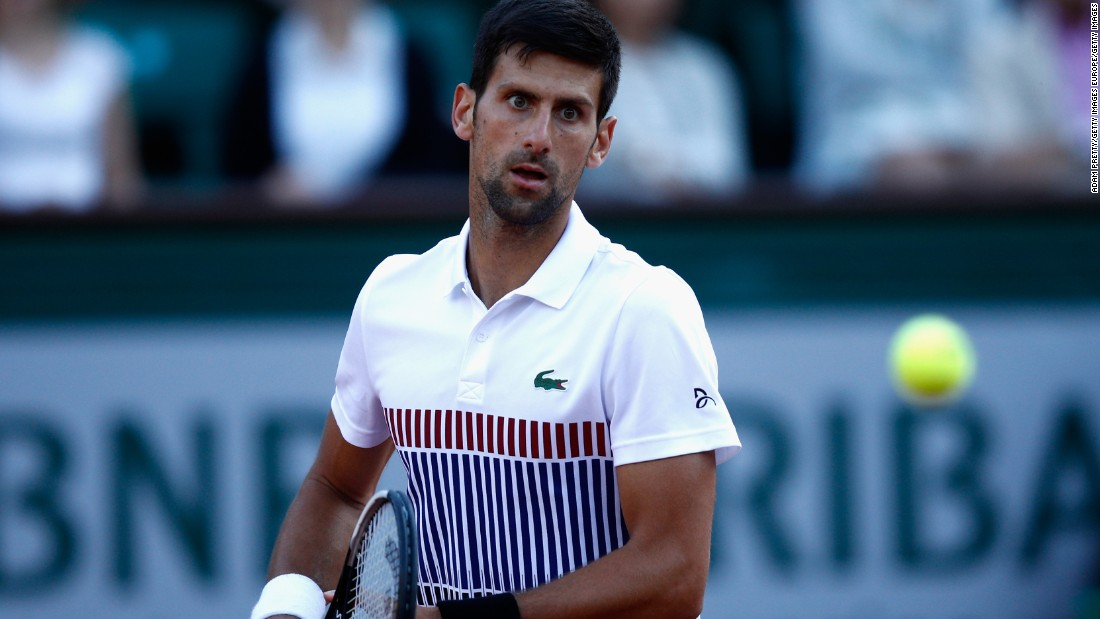 Novak Djokovic recently made the switch from Uniqlo to French fashion giant Lacoste, just in time for the start of the French Open.