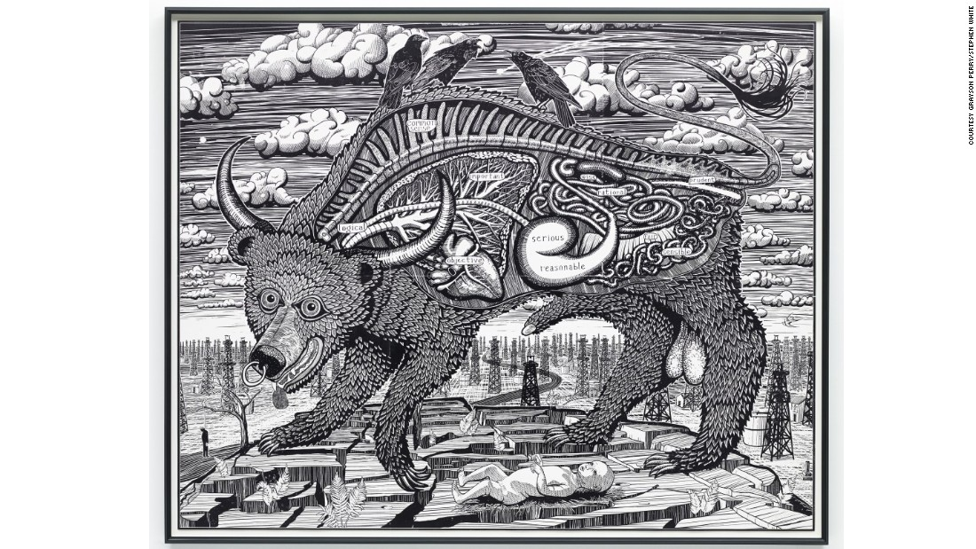 """Animal Spirit"" (2016) by Grayson Perry"
