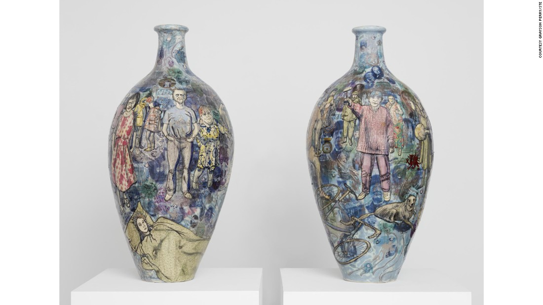 """Matching Pair"" (2017) by Grayson Perry"