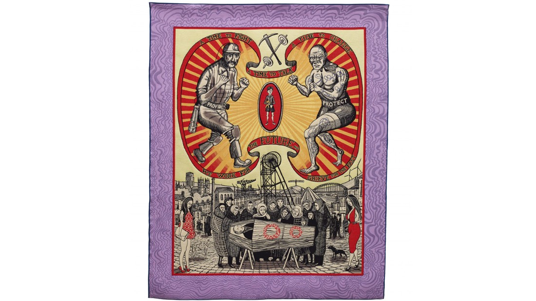 """Death of a Working Hero"" (2016) by Grayson Perry"