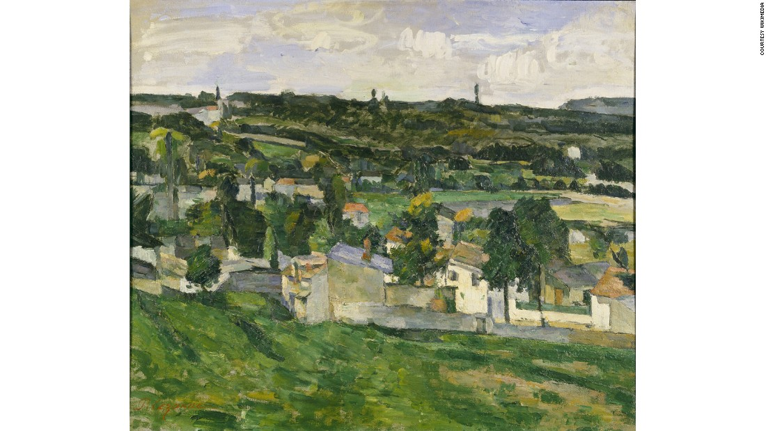 Oxford University's Ashmolean Museum was burgled of its only Cezanne painting on Dec. 31, 1999. The sound of the break-in was masked because it was timed during a New Year's Eve fireworks display.