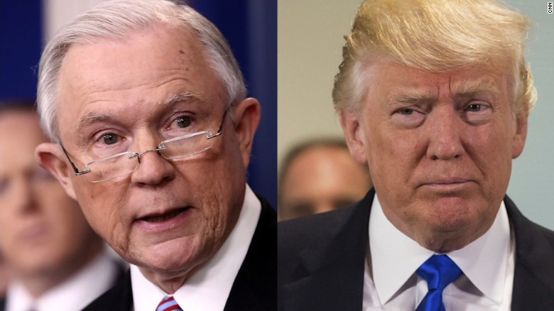 Source: Trump, Sessions had heated arguments