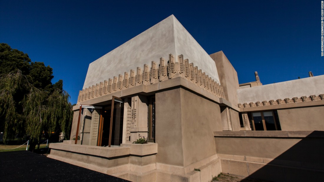 Frank Wright Architect frank lloyd wright in 5 buildings - cnn style