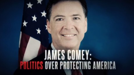 Comey attack ad may have fact issues