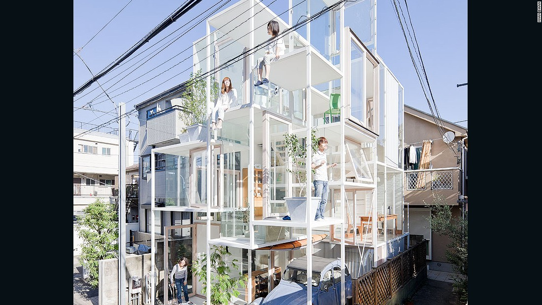 Even in dense urban areas, Japanese architecture sits in harmony with the built environment, as exampled in Fujimoto's projects.