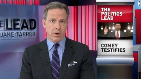 Tapper: Comey said Trump can't be trusted