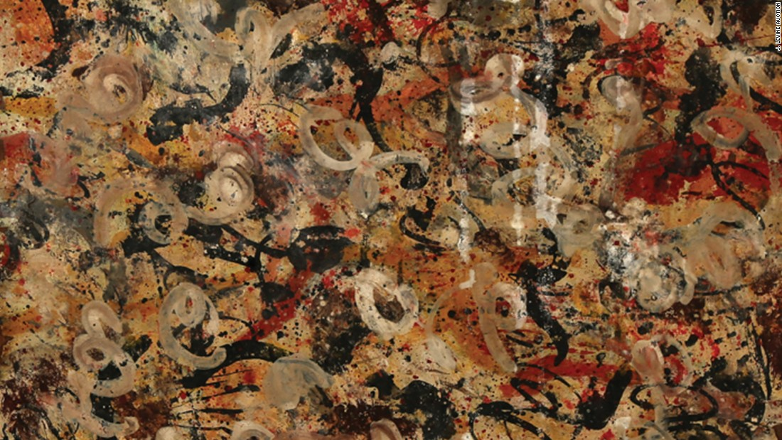 lost jackson pollock painting found in a garage could be