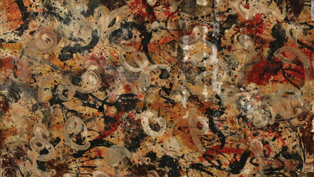 2017 fashion hacks - Lost Jackson Pollock Painting Found In A Garage Could Be