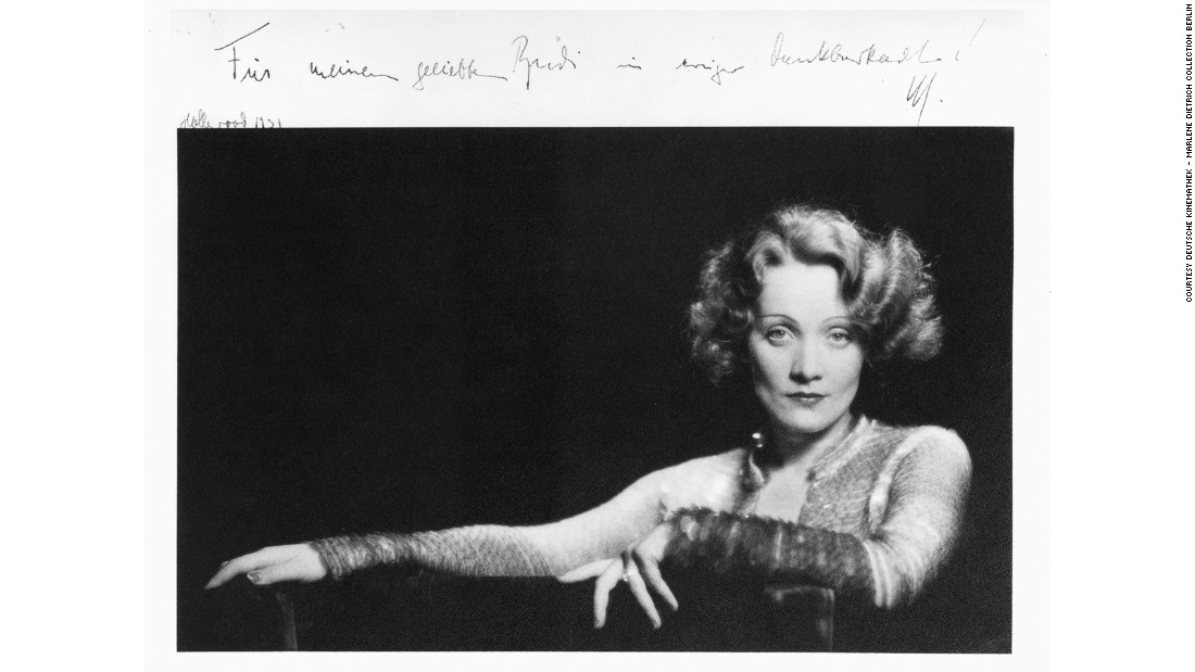 "Marlene Dietrich in ""Dishonored"" (1930)"