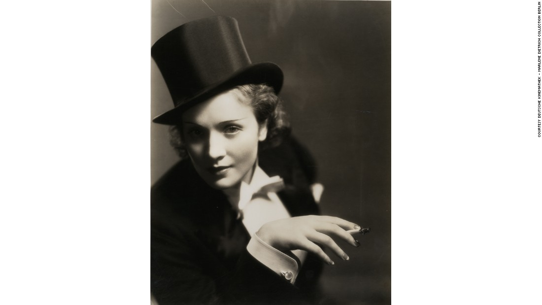 "<a href=""http://npg.si.edu/exhibition/marlene-dietrich-dressed-image"" target=""_blank"">""Marlene Dietrich: Dressed for the Image,""</a> a new exhibition at Washington's National Portrait Gallery, looks at how the German actress crafted her public persona."