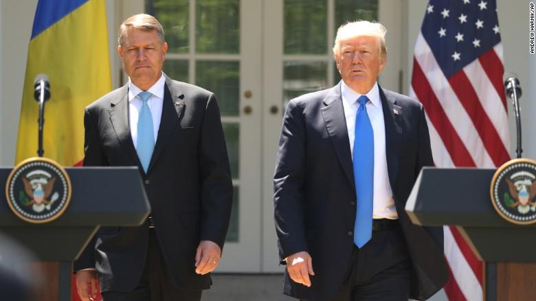 Trump appears to contradict Romanian President - CNNPolitics