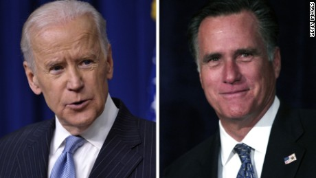 mitt romney joe biden split