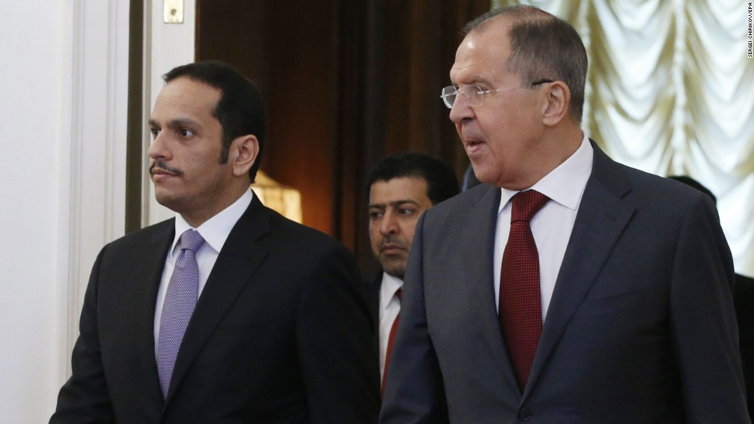 Russia Touts Dialogue In Addressing Qatar Crisis