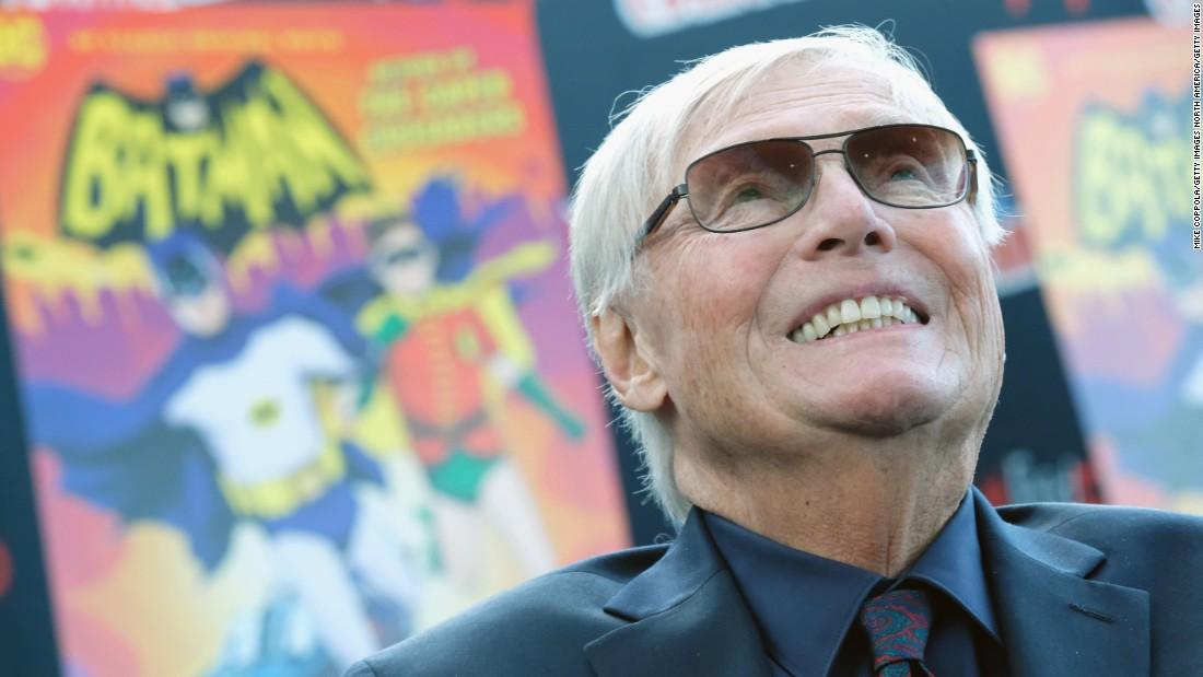 'Batman' actor Adam West dies