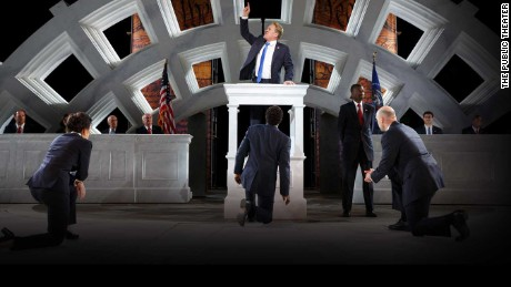 'Trump-like' 'Julius Caesar' stirs debate