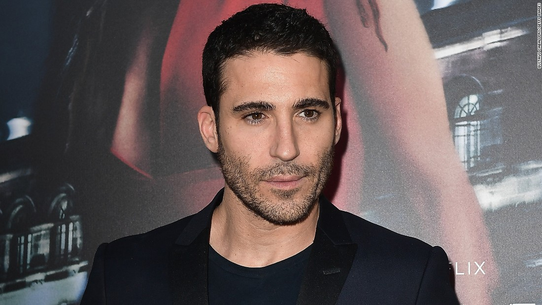 "Miguel Angel Silvestre attends the premiere Of Netflix's ""Ingobernable"" at Colony Theater on March 15, 201,  in Miami Beach, Florida."