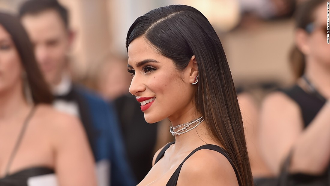 These are some of the new faces of the next generation of Latin Hollywood stars. Actress Diane Guerrero attends the 23rd annual Screen Actors Guild Awards at the Shrine Expo Hall on January 29, 2017, in Los Angeles.