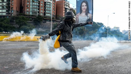 A day in the life of Venezuelans: Anything but normal