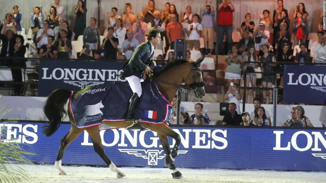 "Sergio Alvarez Moya claimed his maiden LGCT Grand Prix win in Cannes, pipping home favorite Simon Delestre to the top of the podium. <br /><br />""Grand Prix are so hard to win. There were so many riders in the jump off today but it turned out to be fantastic, especially for me,"" the triumphant Spaniard said."