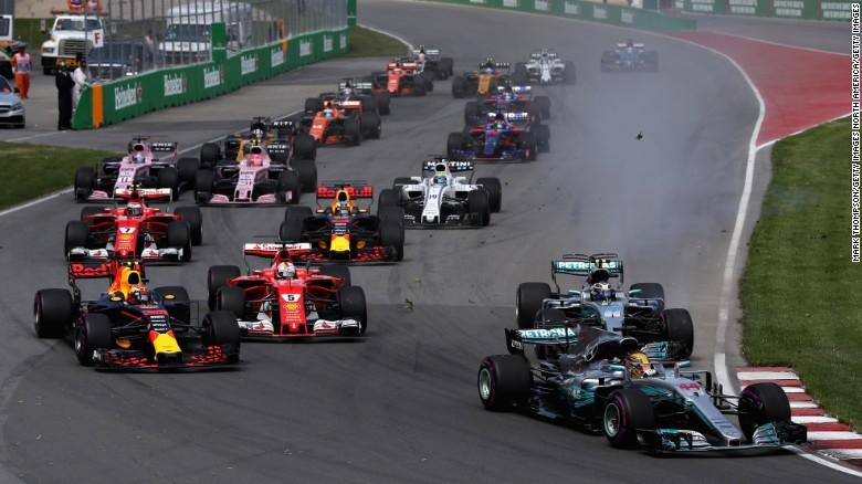 F1:刘易斯·汉密尔第六次胜利 ,缩小了与维特尔的差距