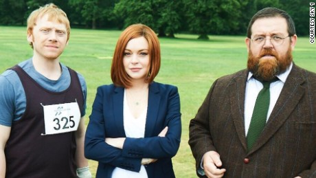 "Rupert Grint, Lindsay Lohan and Nick Frost star in season 2 of ""Sick Note."""