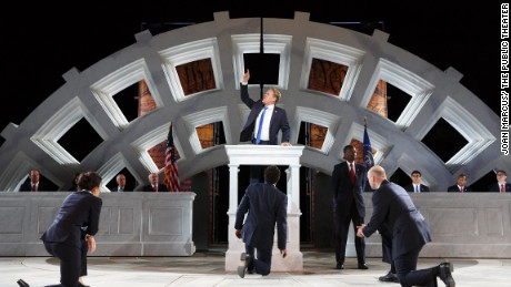Trump as Julius Caesar -- What could go wrong?