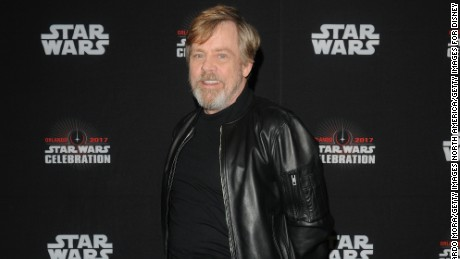 Mark Hamill attends the 40 Years of Star Wars panel during the 2017 Star Wars Celebrationat Orange County Convention Center on April 13, 2017 in Orlando, Florida.  (Photo by Gerardo Mora/Getty Images for Disney)