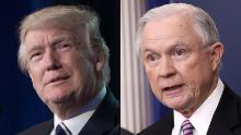 Trump scolds Sessions in NYT interview