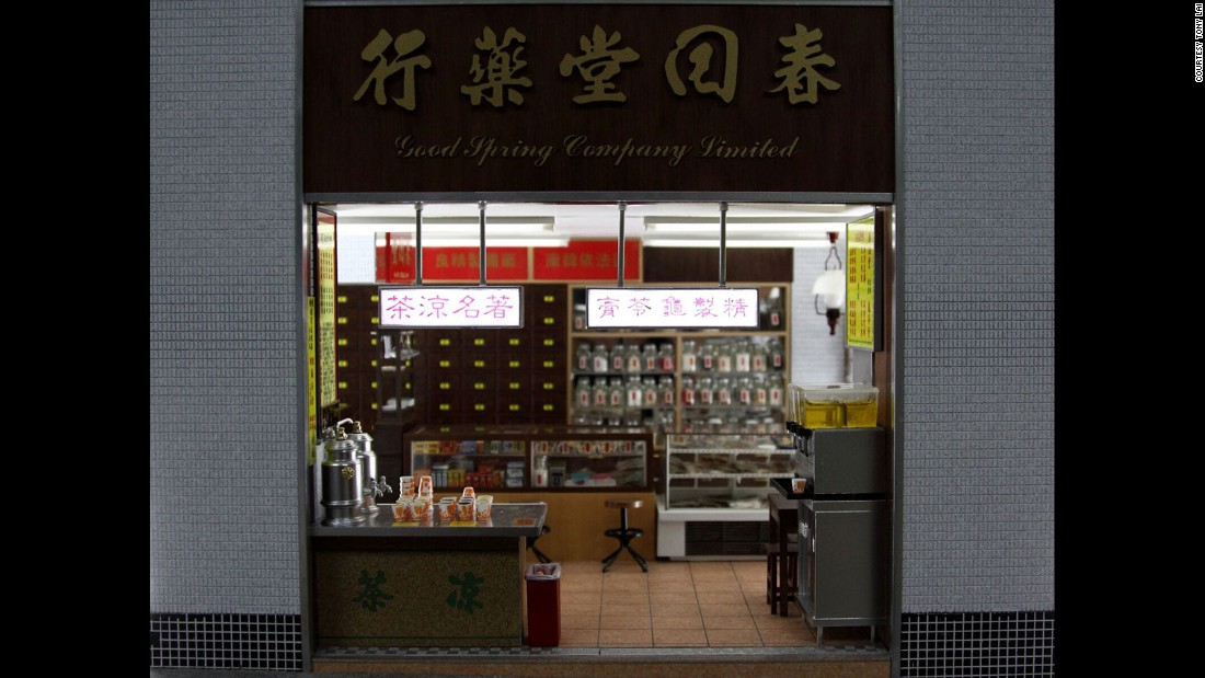 The shop is one of the few recreated by Lai and Chan that still exists today.