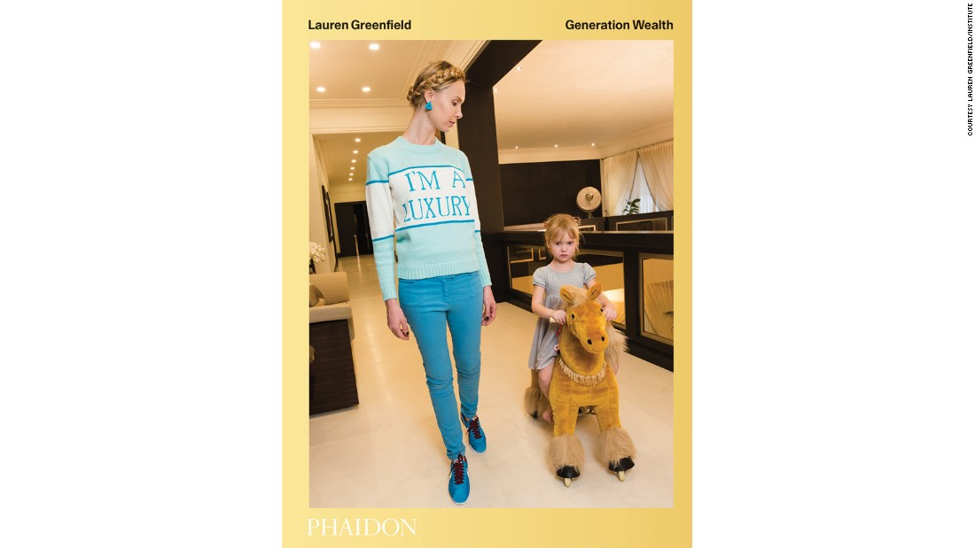 "<a href=""https://www.amazon.com/Lauren-Greenfield-Generation-Wealth/dp/0714872121"" target=""_blank"">""Generation Wealth"" </a>by Lauren Greenfield, published by Phaidon, is out now."